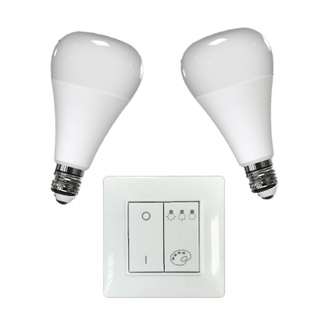 BULB E27 and SWITCH pack