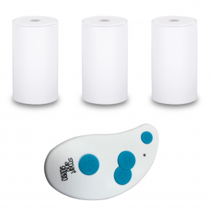 TUB and KEY pack Pack of three TUB table lamps and one remote control