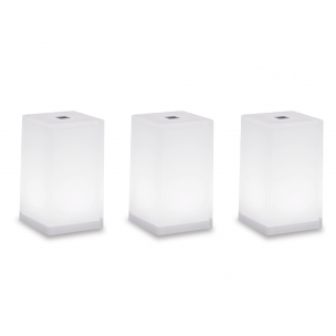 Pack 3 TUB Pack of three CUB table lamps
