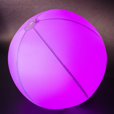 Inflatable round lamp BUBBLE