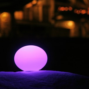 Luminous globe FLATBALL
