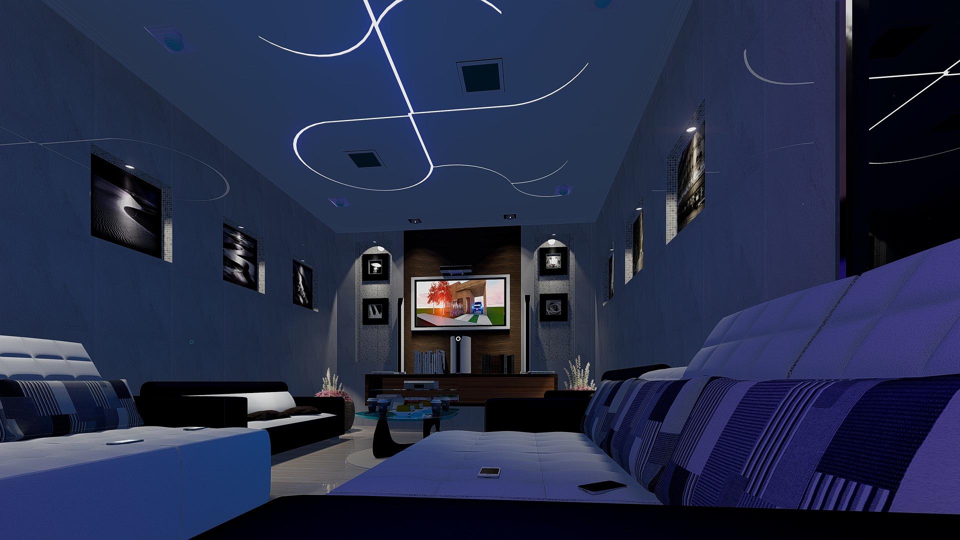 LED plafond
